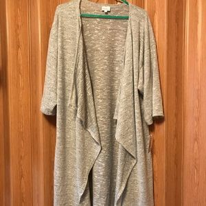 NWT Super Soft Light Grey Shirley - Large